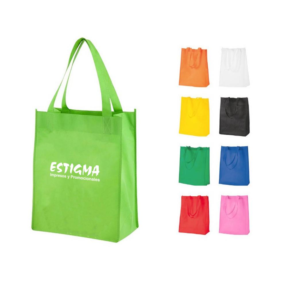 bolsa de tela ecológica non woven, articulo promocional