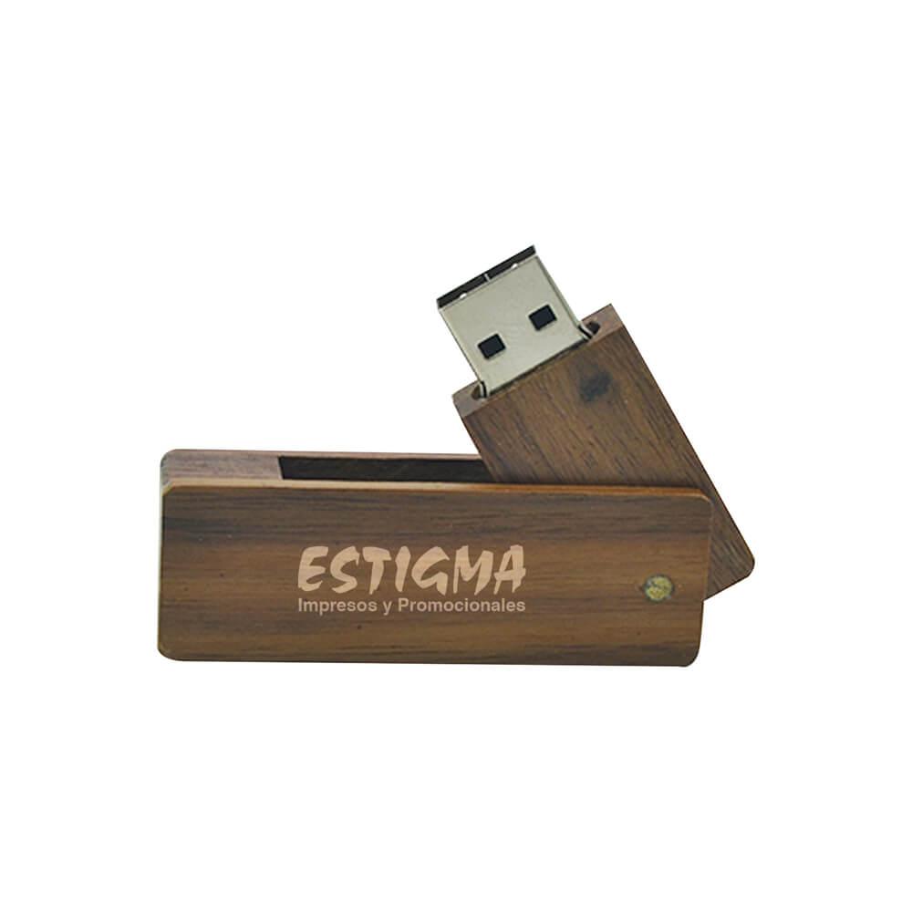 usb ecologica, usb de madera, usb personalizada