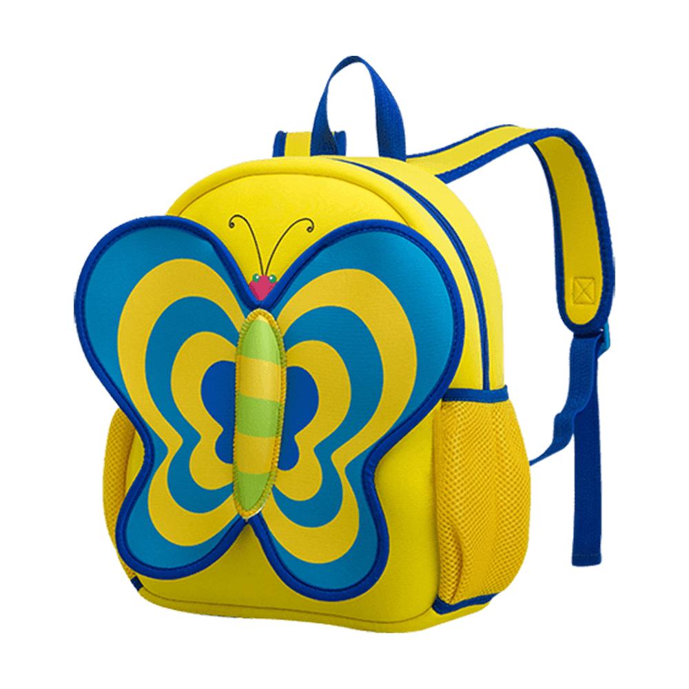 mochila niña mariposa