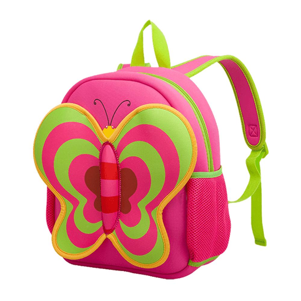 mochila para niños mariposa