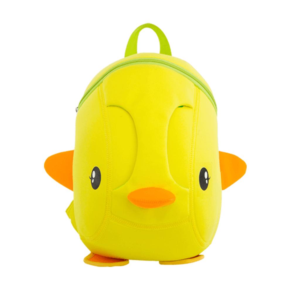 mochila infantil pato