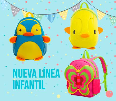 mochilas para niños diferentes diseños